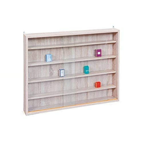 Easy Home  Simply A20 -  Vitrina de  madera MDF y vidrio