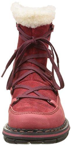 Art Damen Assen 435 Schneestiefel Rouge (Amarante)