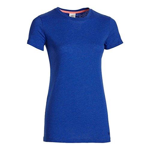 Under Armour Women's Favourite Crew T-Shirt - SS16 blue
