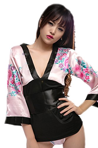 (Shangrui Frauen der Uniform Serie Tief-V-Kragen Kimono)