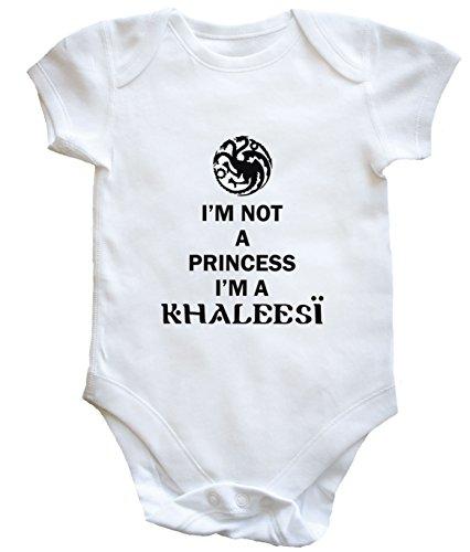 HippoWarehouse-body-infantil-con-texto-en-ingls-Im-Not-a-Princess-Im-a-Khaleesi