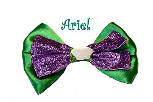 Ariel sirenetta Princess Hair Bow clip Slide