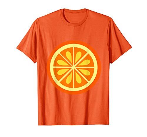 Kostüm Frucht Orange - Orange Kostüm Shirt Frucht Orange Karneval Last Minute  T-Shirt