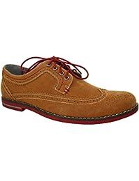 Derbies style chaussures de ville suédine Michal