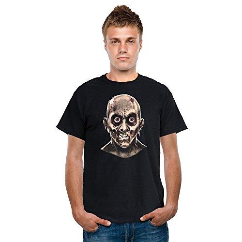 Digital Dudz DDTZEX - Frantic Zombie Bewegend Augen Erwachsenen T-Shirt, XL (Rocket Scientist Kostüm)