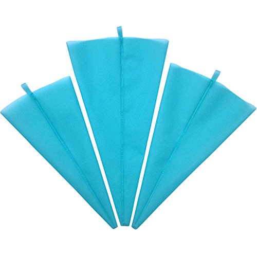 LB Trading Spritzbeutel Silikon-Spritzsack mit 3(S\M\L)- Spritztüten für –Wiederverwendbare