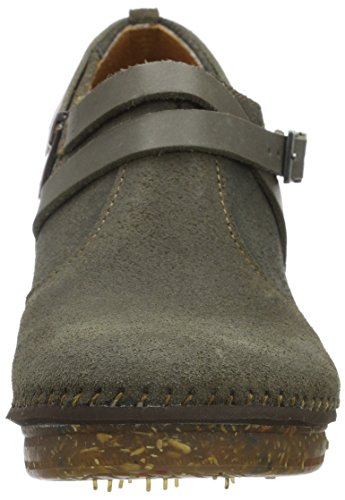 Stiefel Damen Amsterdam Grau plumb Kurzschaft Art A6tBZqA