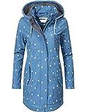 Peak Time Damen Softshell Mantel L60013 Blau Dots019 Gr. XL