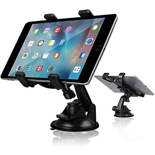 """Linkstyle Tablet-Halter für Tablet-Halter, Tablet Dash Mount-Halter für Auto-Windschutzscheibe Dashboard Universal-Tablet-Autohalterung mit Saugnapf kompatibel Alle 7-10""""-Tabletten"""
