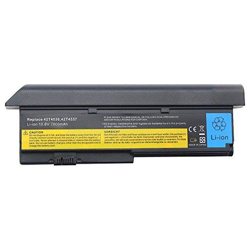 7800mAh Notebook Laptop Akku für IBM Lenovo Thinkpad X200 X200s X201 X201s X201i X201si ASM 42T4537 42T4538 42T4540 42T4542 42T4543 42T4649 43R9254 42T4534 42T4536 42T4538 42T4647 42T4648 (X201 Akku, Lenovo)