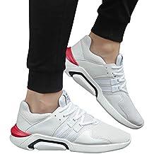 e0dd182677784 Beikoard-scarpa Uomo Moda Traspirante Shock Absorption Sneakers Uomo Casual  Soft Sport Shoes(