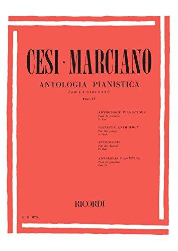 ANTOLOGIA PIANISTICA PER LA GIOVENTU - FASC. IV
