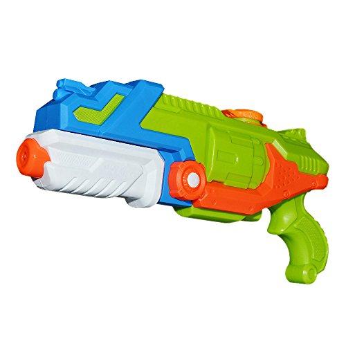 TeaQ Pistolet a Eau Grande Capacité Longue Distance pour Enfants et Adultes Jeux Plein Air Couleur Aléatoire