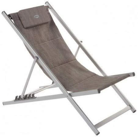 Hespéride Le Depot BAILLEUL - Chilienne inclinable Honolulu Taupe chiné