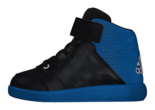 adidas Unisex Baby Jan Bs 2 Mid I Sneakers, Negro (Negbas / Griosc / Azuuni), 23 EU