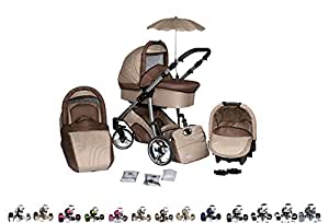 clamaro 3 in 1 pluto kombi kinderwagen mit einem. Black Bedroom Furniture Sets. Home Design Ideas