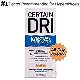 certain DRI Antiperspirant deodorante | Everyday forza clinica | all Day protezione contro odori e sudorazione solido | 2.6oz.