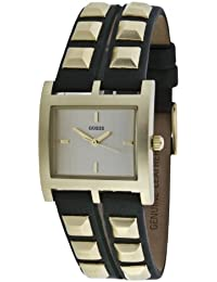 Guess Damen-Armbanduhr XS Analog Leder W85090L3