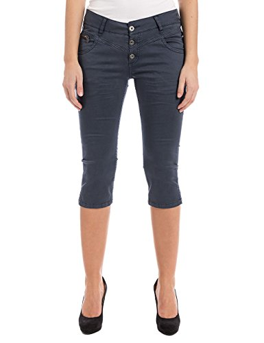 Timezone New Kairinatz 3/4 Pants, Court Femme rouge (mood indigo 3607)