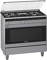 Siemens iQ100 Range Cooker 112 L - HG73G8357M, Silver, 1 Year Warranty