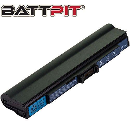 Battpit Laptop Akku für Acer UM09E31 UM09E51 UM09E56 UM09E70 UM09E71 Aspire 1410 1810T 1810TZ Ferrari One 200 - [6 Zellen/4400mAh/48Wh]