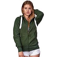 Suchergebnis auf für: Grüne Sweatshirtjacke
