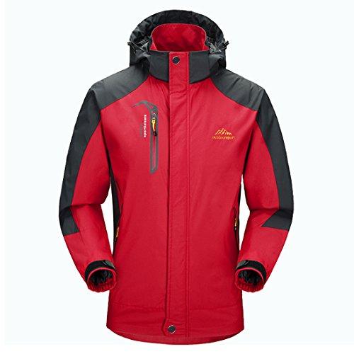 Waterproof Jacket Mens Raincoat Sportswear-GIVBRO 2018 New Design Outdoor Hooded Softshell Running Jackets