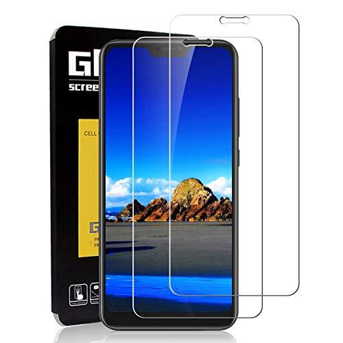 Protector Pantalla Xiaomi Mi A2 Lite [2 Piezas] Cristal Templado Xiaomi Mi A2 Lite, [Cobertura Completa] [Dureza 9H] [Alta Definición ] ,Vidrio Templado Xiaomi Mi A2 Lite