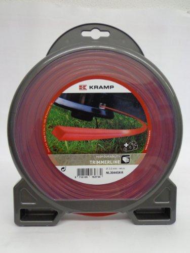 Mähfaden 4-Kant für alle Motorsense Nylon rot 4,0 mm x 25 m -