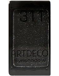 Artdeco Magnetlidschatten Glamour 311, glam smokey black, 1er Pack (1 x 8 g)