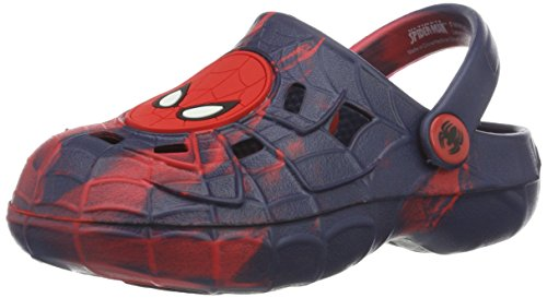 Spiderman Boys' Sp000430 Clogs blue Size: 12/13 UK Child