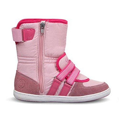 chengniu sandali a strappo bambino con solette foderate di pelle sandali da spiaggia durevoli ragazzo delle taglie Rosso