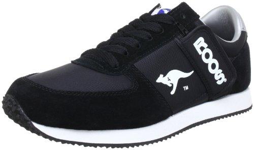 Wht Blk Herren Sneakers (KangaROOS Combat, Herren Sneakers, Schwarz (blk/wht 500), 40 EU)