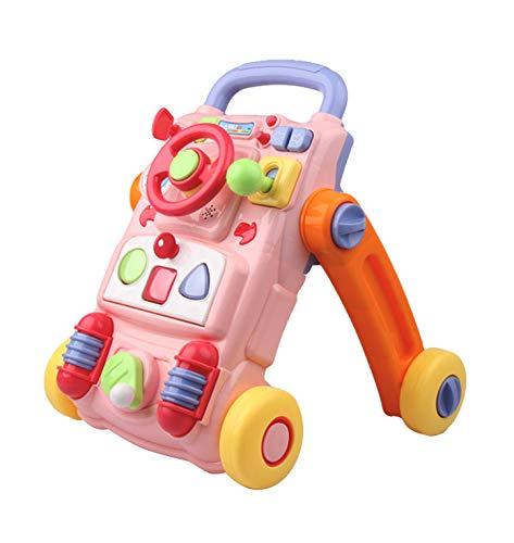 Baby walker Correpasillos Bebé,Fisher Price 0-36 Meses Bebé Patrón Múltiple Diseño Ergonomico Sentar Jugar Juguete Aprendizaje Andador