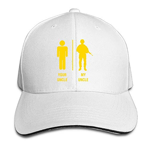 Presock Prämie Unisex Kappe Military Your Uncle My Uncle Adult Adjustable Snapback Hats Peaked Cap