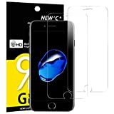 NEW'C Verre Trempé pour iPhone 7 Plus, iPhone 8 Plus,[Pack de 2] Film Protection...
