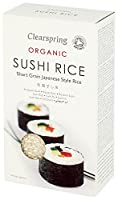 Clearspring Organic Sushi Rice 500 g (Pack of 6)