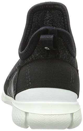 Ecco Jungen Intrinsic Sneaker Low-Top Schwarz (54610black/black-white) 7hXxjj50
