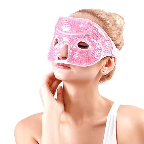 Migräne Maske Gelmaske Gesicht Augenmaske Gel Warm