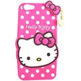 Qzey Cute Hello Kitty Back Cover For Oppo A57 - Pink