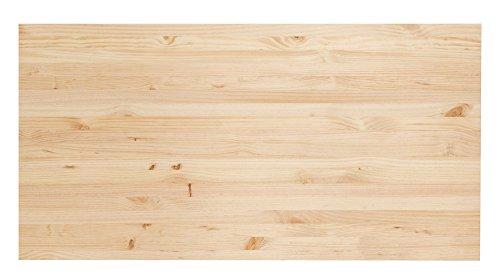 ASTIGARRAGA KIT LINE ENC126.99, Encimera Madera Maciza, Beige, 120x60x1.8 cm