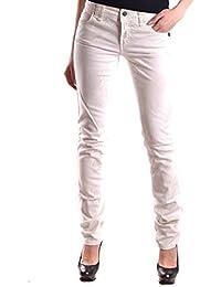 Galliano Damen MCBI130047O Weiss Baumwolle Jeans