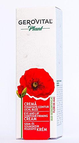 Gerovital Plant - Crema contorno occhi e labbra rassodante
