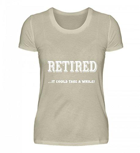 Hochwertiges Damen Organic Shirt - Pensionato ... Potrebbe Volerci Del Tempo! Beige