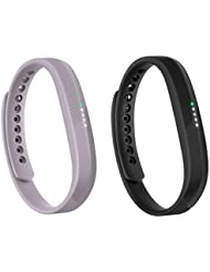 Fitbit Flex 2 Fitness Wristband - Lavender, One Size & Fitbit Flex 2 Fitness Wristband - Black, One Size