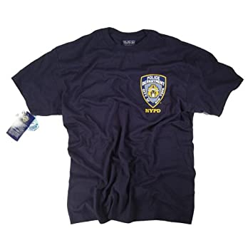 Anti Crime Security Inc. NYPD T-Shirt Navy Blue Apparel Officially Licensed Merchandise by The New York City Police Department