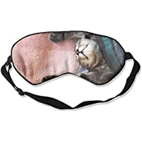 Eye Mask Eyeshade Cat Sleeping Sleep Mask Blindfold Eyepatch Adjustable Head Strap E5 preisvergleich bei billige-tabletten.eu