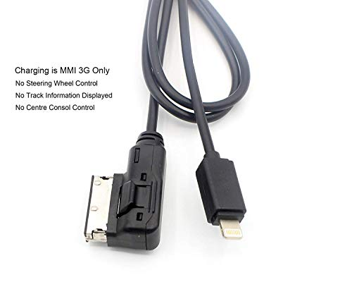 LoongGate Media In Para AMI MMI 3G MDI AUX Cable interfaz