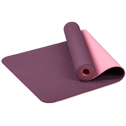 MaxYoga Esterilla para Yoga / Pilates / Gimnasia de material...
