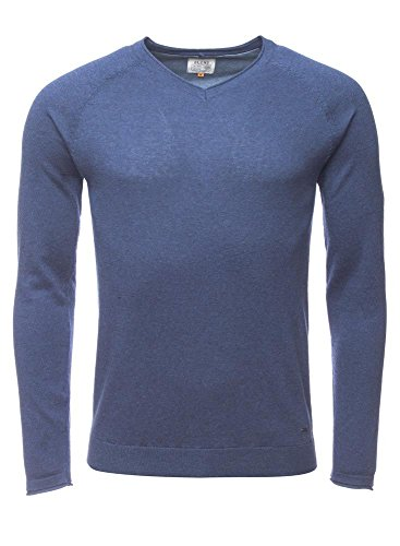 Blend of America -  Maglione  - Uomo Blu (Navy) X-Large